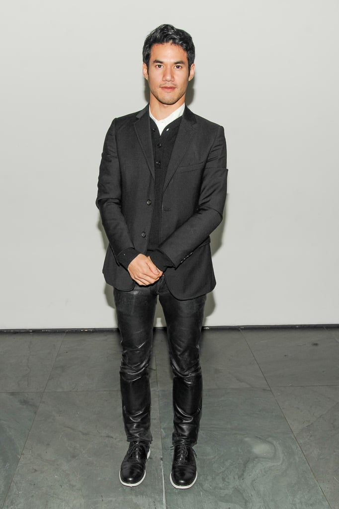 At WSJ. magazine's MoMA event, Joseph Altuzarra worked his leather pants with style.