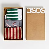 ASOS Design Christmas-Themed Sock Set