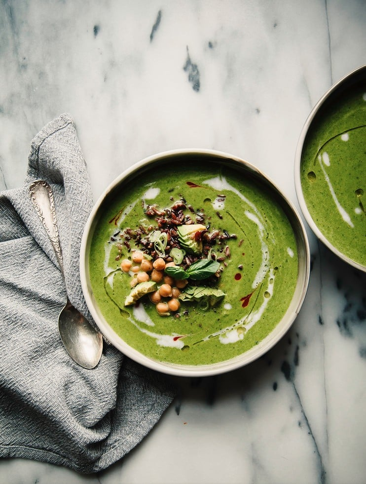 Healthy Green Soup Recipes and Ideas