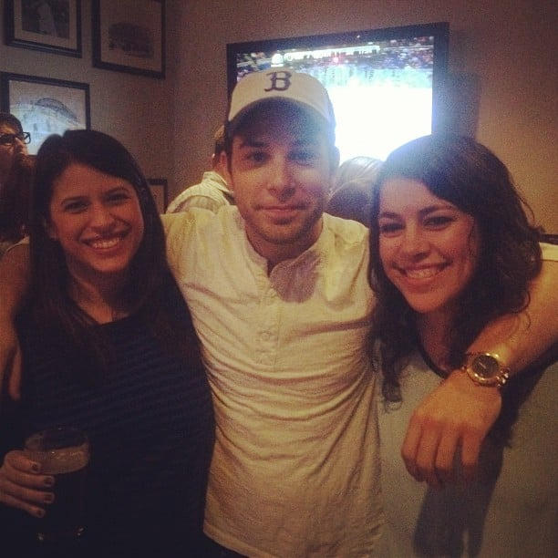 Skylar Astin popped in for an impromptu happy hour in San Francisco.
