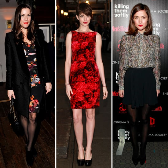 How to Wear Florals in the Winter