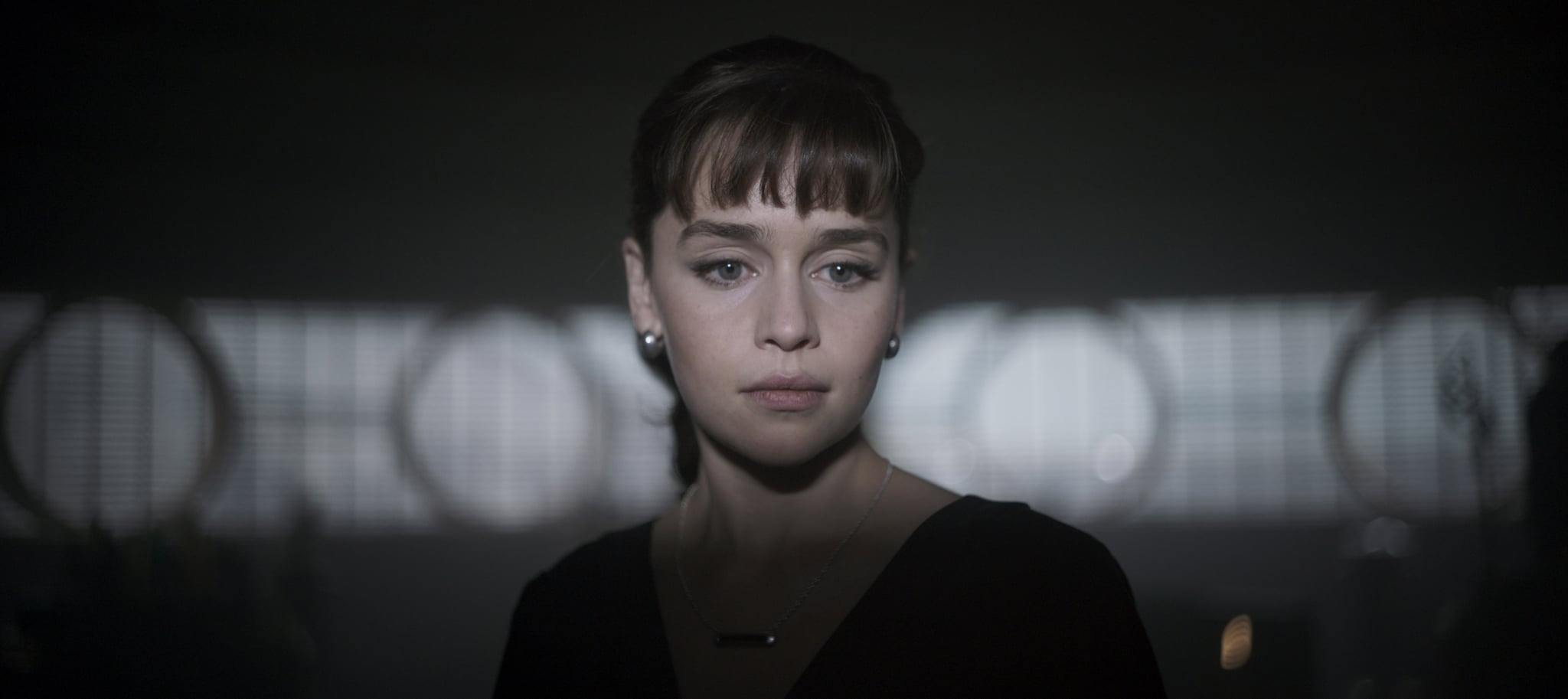 SOLO: A STAR WARS STORY, Emilia Clarke as Qira, 2018.  Lucasfilm/  Walt Disney Studios Motion Pictures/courtesy Everett Collection