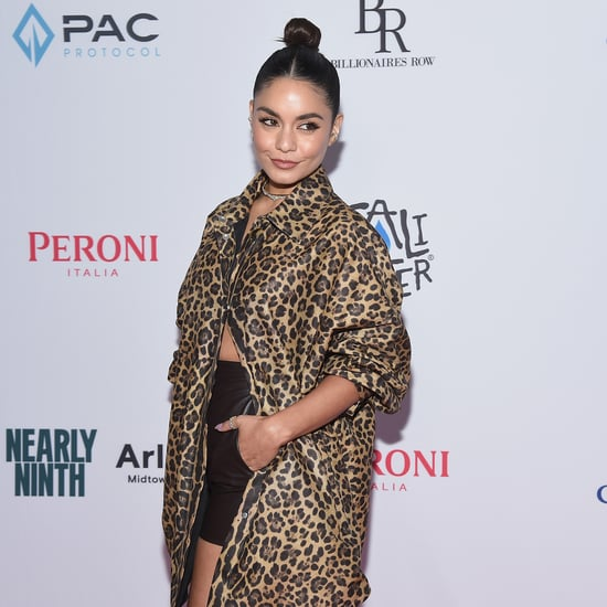 Vanessa Hudgens Just Got a New Snake Tattoo on Her Ankle