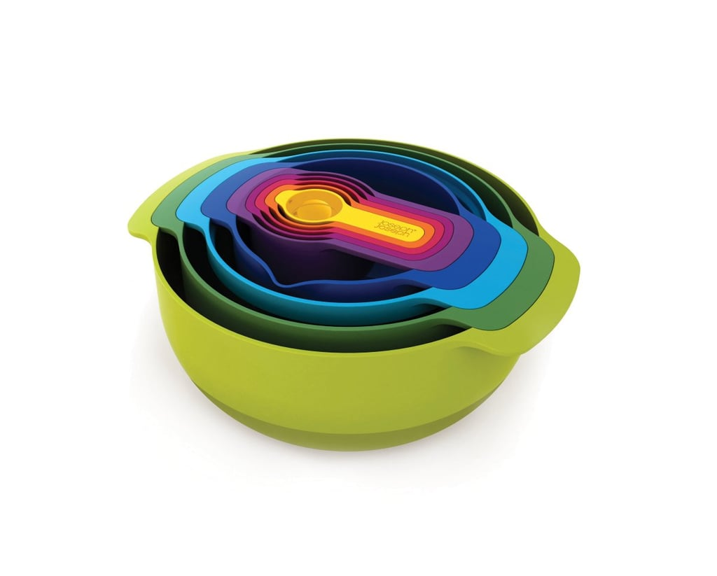 Colorful Mixing Bowl and Measuring Cup Set