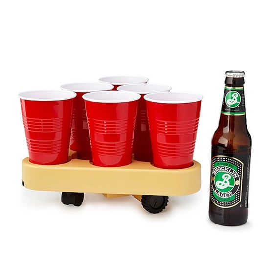 Motorized Beer Pong Game