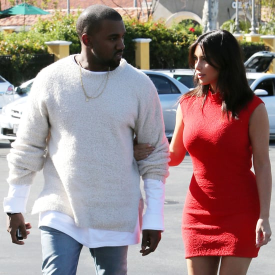 Kim Kardashian and Kanye West See a Movie Together | Photos