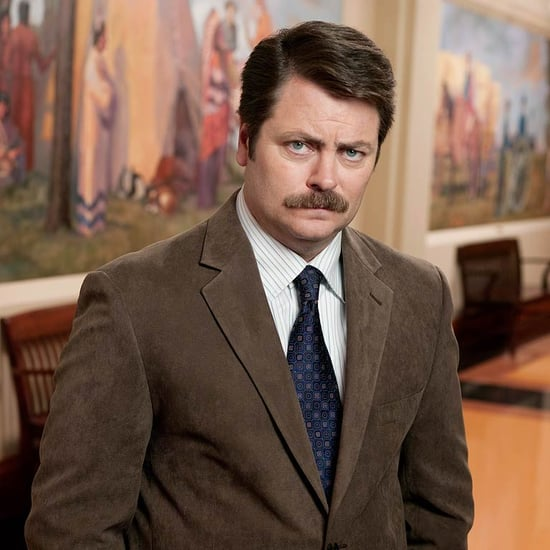 TV Characters With Mustaches and Without