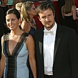 Courteney Cox and her then husband David Arquette walked the red carpet together at the 2003 Emmys.