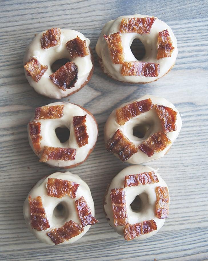 Maple-Bacon Doughnuts