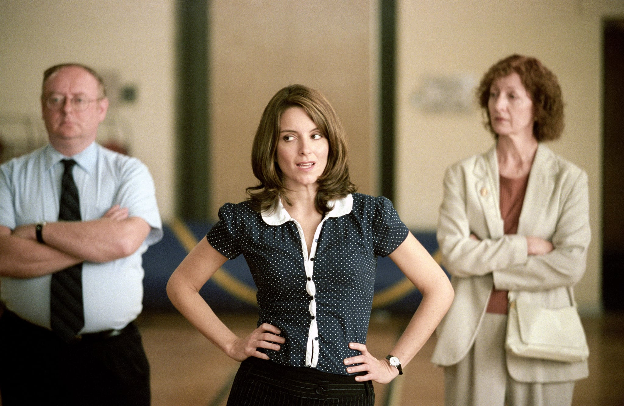 MEAN GIRLS, Tina Fey (foreground), 2004, (c) Paramount/courtesy Everett Collection