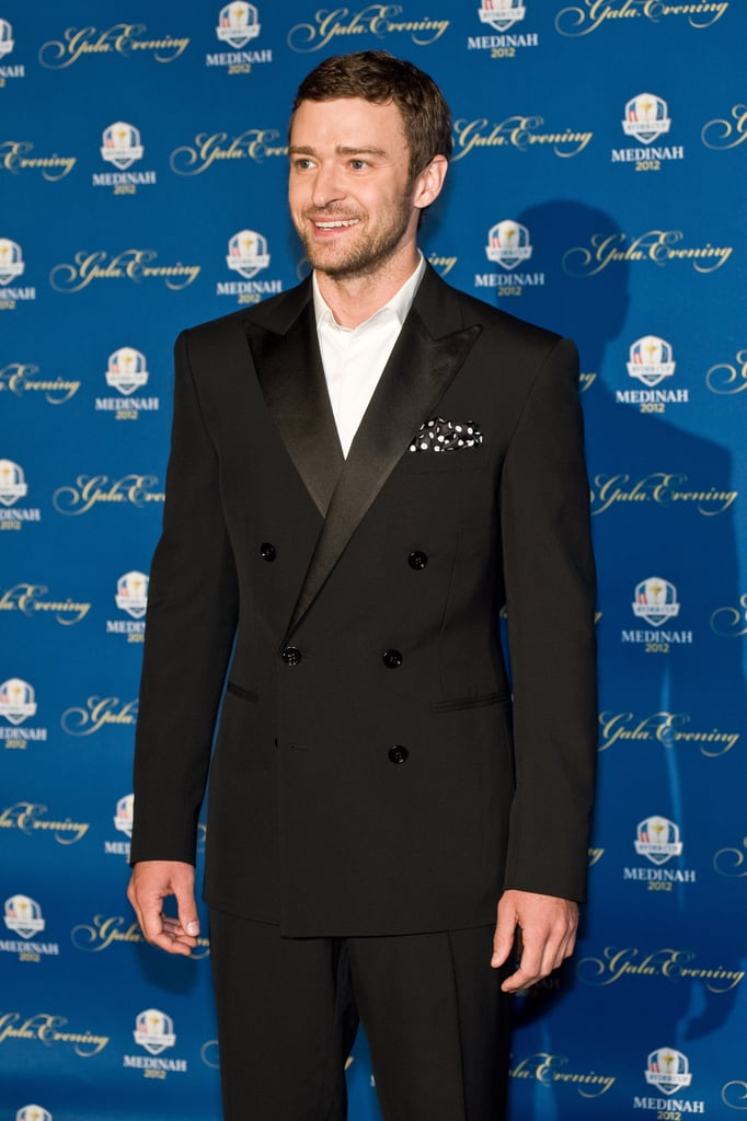 Justin Timberlake hit the red carpet for some photos.