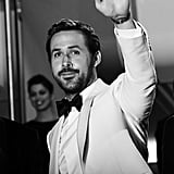 Ryan Gosling Black-and-White Pictures
