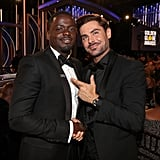Pictured: Daniel Kaluuya and Zac Efron