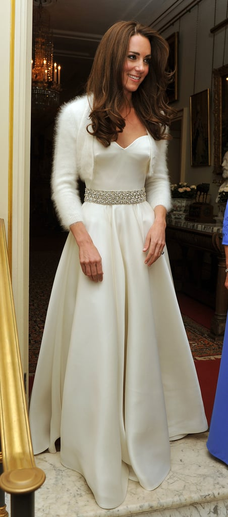 Kate's Second Alexander McQueen Bridal Gown