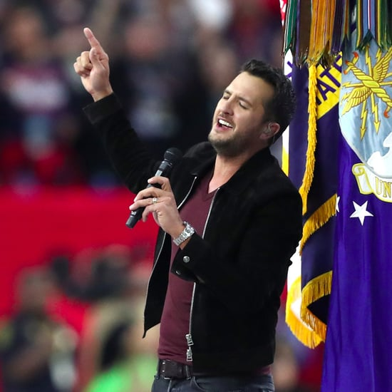 Luke Bryan Sings the National Anthem at the Super Bowl 2017
