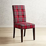 Heirloom Plaid Red Dining Chair ($100, originally $150)