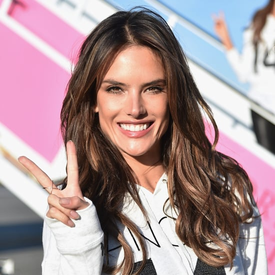 How Alessandra Ambrosio Is Prepping For Tonight's VS Fashion Show