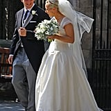 Zara Phillips and Mike Tindall tied the knot today.
