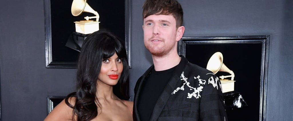 Jameela Jamil and James Blake Photos