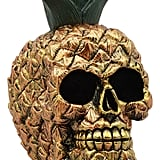 Ebros Pineapple Skull Figurine