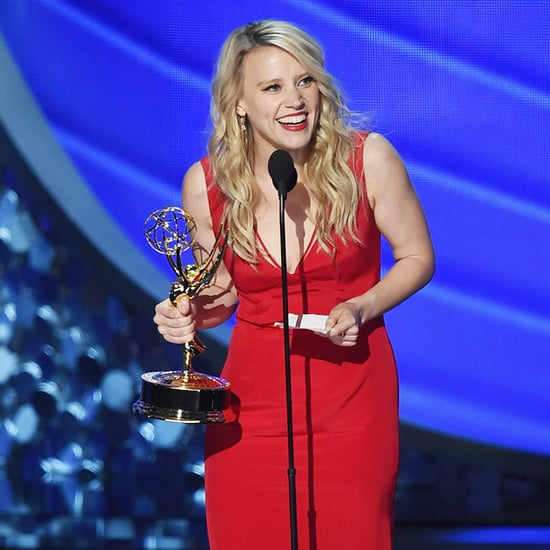 Kate McKinnon Thanking Hillary Clinton During 2016 Emmys