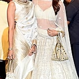 Actresses and Sisters Karishma and Kareena Kapoor Wore Matching White Outfits