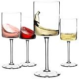 Square Wine Glasses