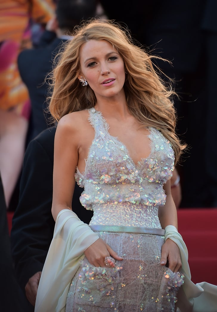 Blake Lively In Chanel At The Cannes Mr Turner Premiere