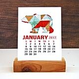 2017 Desk Calendar — Wildlife ($7)