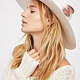 Free People Van Palma Bandidas Feather Band Hat
