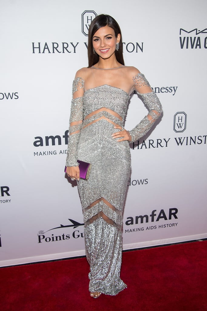Victoria Justice at the amfAR Inspiration Gala 2016