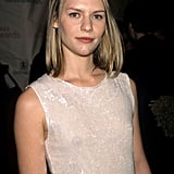 A fresh-faced Claire looked simply darling at the 1999 VH1/Vogue Fashion Awards with barely there makeup and a half-updo.