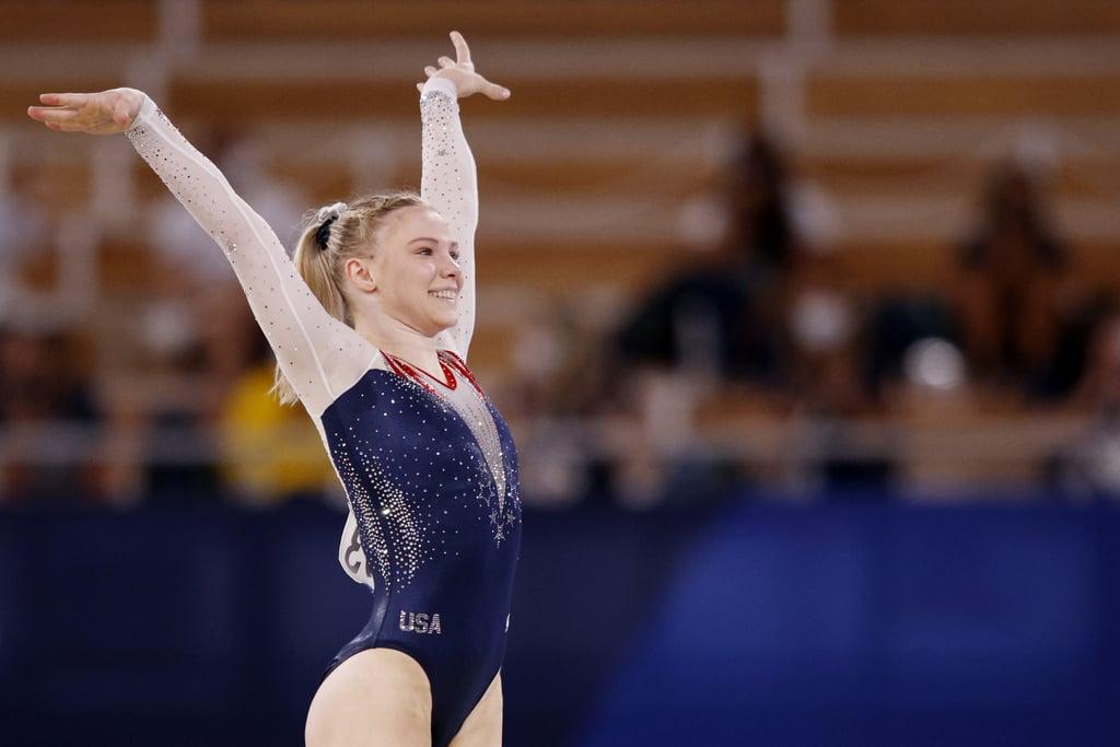 Jade Carey Wins Gold in the Tokyo Olympics Women's Gymnastics Floor Final