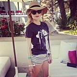 Diane Kruger was at the H&M USA Coachella party on Saturday. Source: Instagram user popsugar