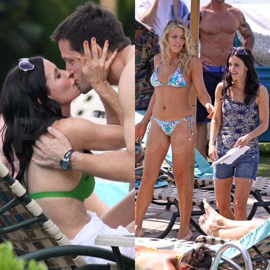 Courteney Cox Bikini Pictures, Busy Philipps Bikini Pictures in Hawaii