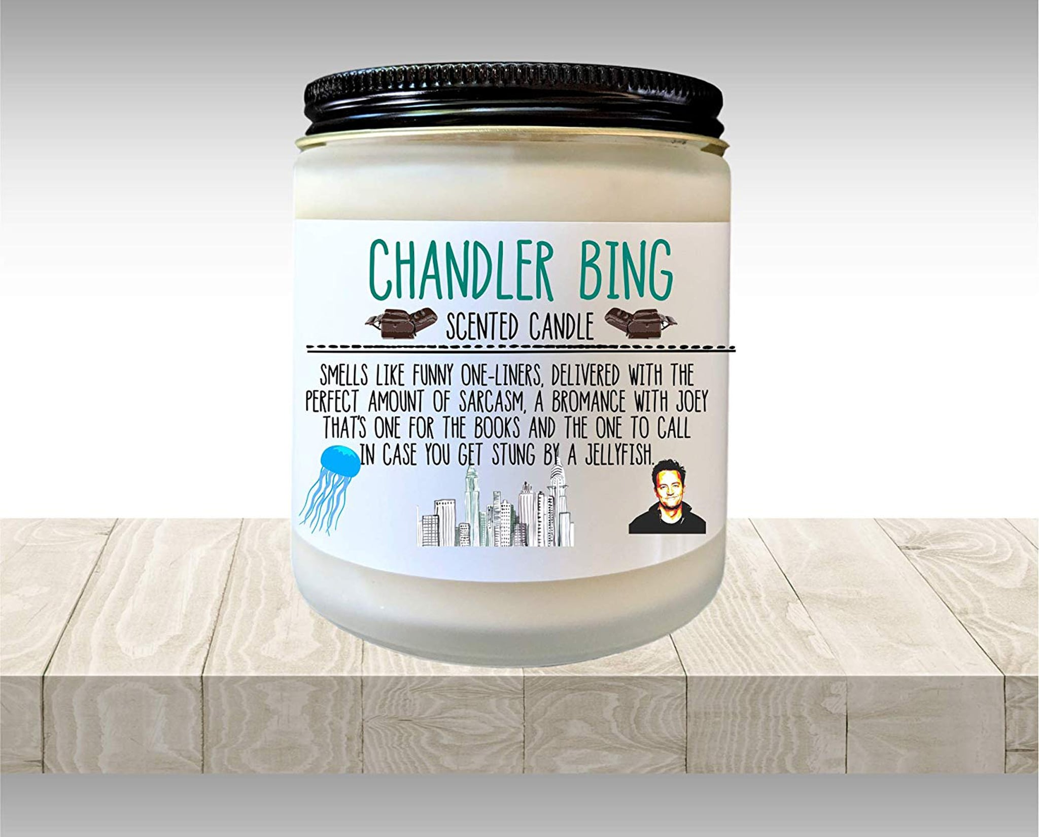 """Oh. My. Gawd! Amazon's Chandler Bing Candle Smells Like """"the Perfect Amount of Sarcasm"""""""