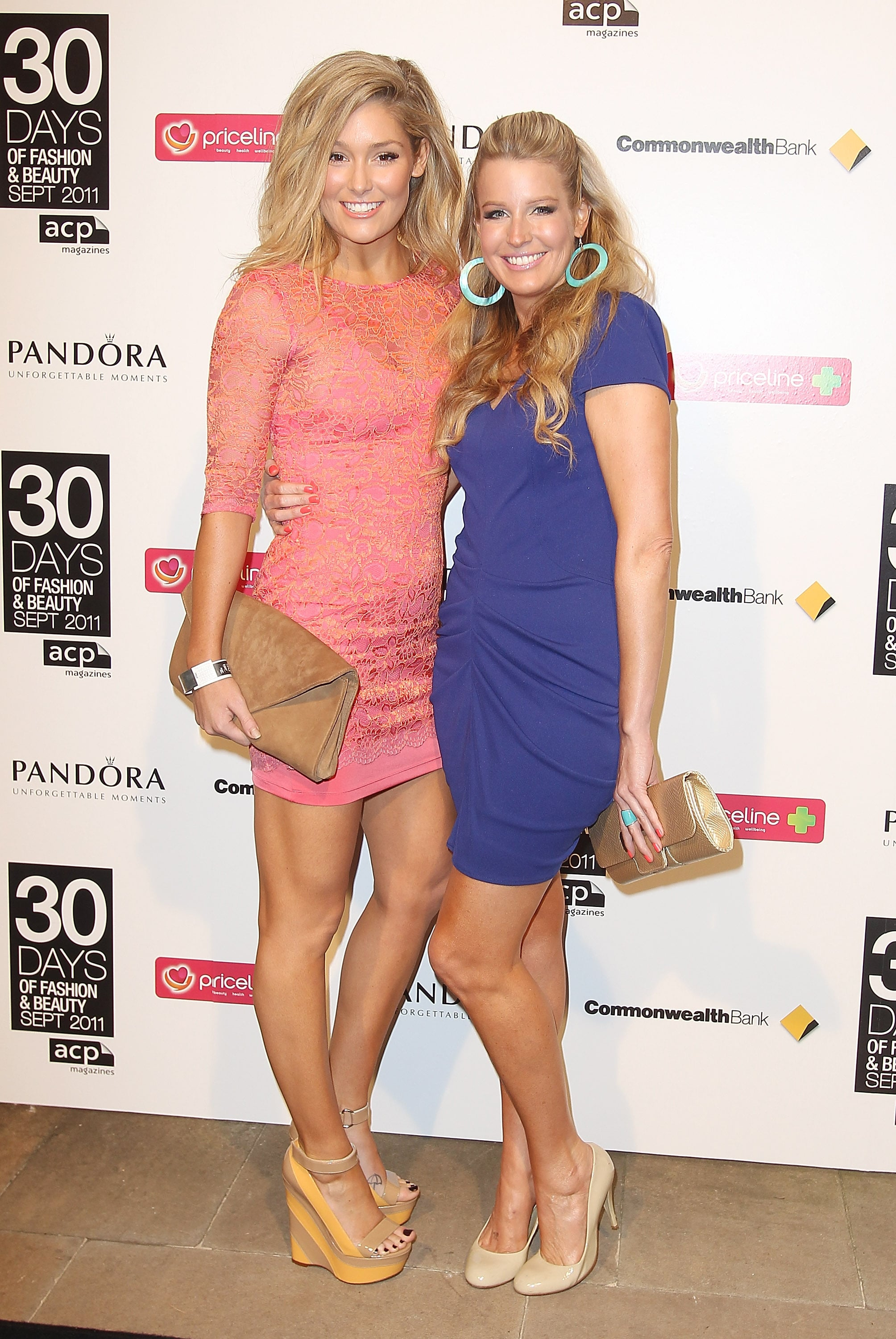 Erin McNaught and Kylie Speer