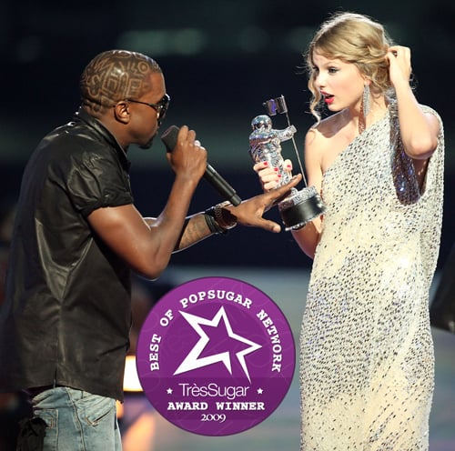 WTF Moment of 2009: Kanye West and Taylor Swift at the VMAs