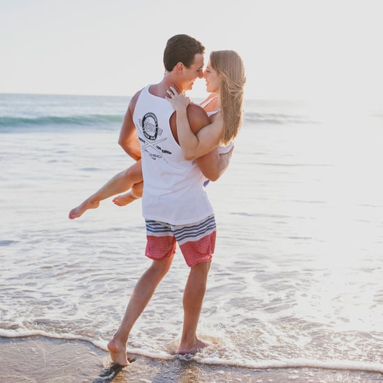 Casual Beach Engagement Shoot