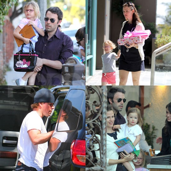 Pictures of Ben Affleck With Jennifer, Violet, Seraphina ...