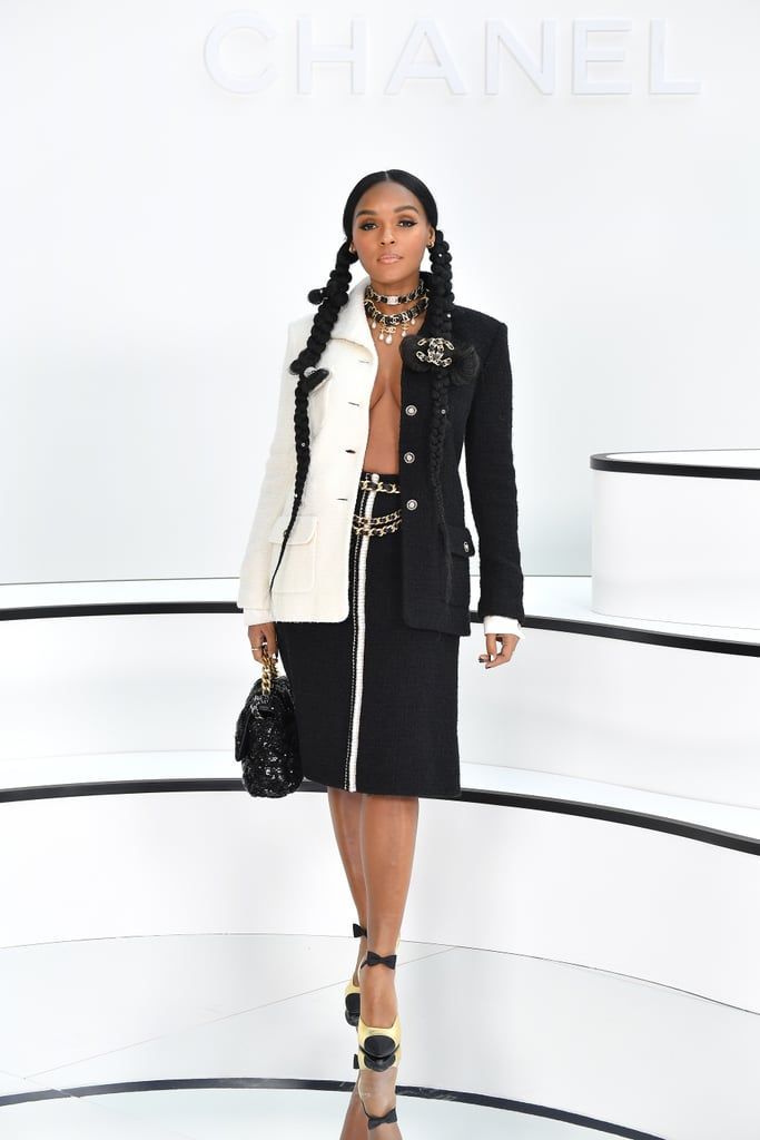 Janelle Monáe at the Chanel Fall 2020 Show