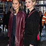 Jennifer Morrison and Jamie Chung in NYC February 2017