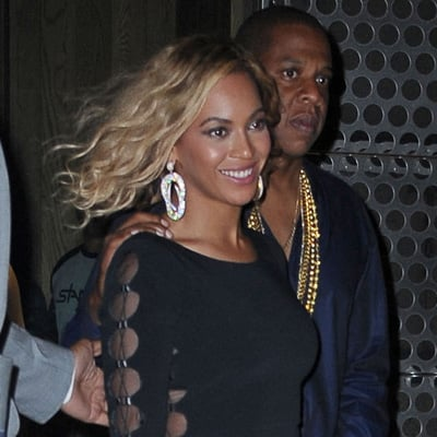 Beyonce Wears Wavy Hair For A Date Night With Jay Z Popsugar Celebrity
