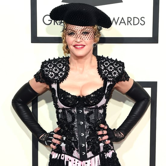Madonna's Outfit at 2015 Grammys