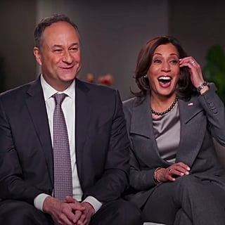 Kamala Harris Gets Sweetly Flustered Admitting She Googled Doug Emhoff Before They Met