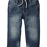 A Pair of Lined Jeans
