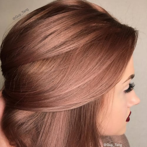 Rose Gold Hair Colour Inspiration