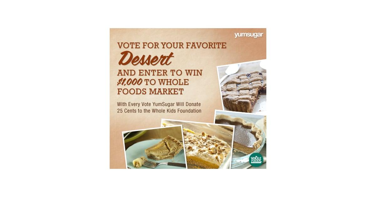 Whole Foods Market Dessert Recipes