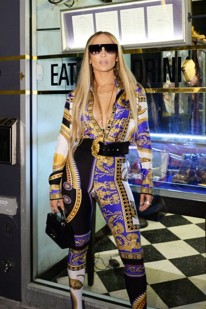 34728a5af9e Jennifer Lopez MTV VMAs 2018 Afterparty Versace Look