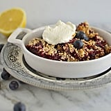 Dessert: Matzo Almond Fruit Crumble